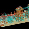 3D model built from laser scans