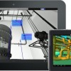Scans and 3D models viewable in iPanoMap on a tablet